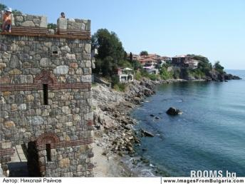 Fortified walls and ancient ruins in Sozopol, Picture