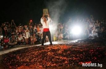 Museum of fire dancing in Balgari Village, Picture