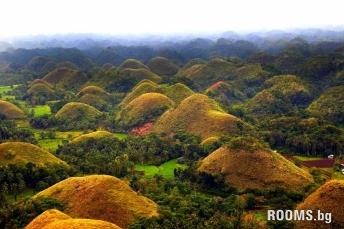 Chocolate Hills in the Philippines, Picture