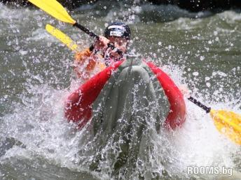 Kayaking on the river Struma, Picture