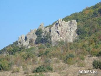 Landmark Milkini rocks, Stara Zagora, Picture