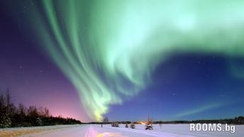 Northern Lights - silently, creepy show of lights, Picture