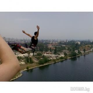 Bungee jump from a bridge Asparuhov, Picture