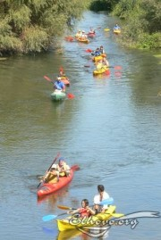 Kayaking on the river Tunja, Picture 2