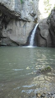 Waterfall Momin jump (Emen waterfall), Picture 1