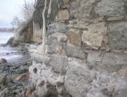 Stormy Sea revealed Roman walls in Sarafovo, Picture 1
